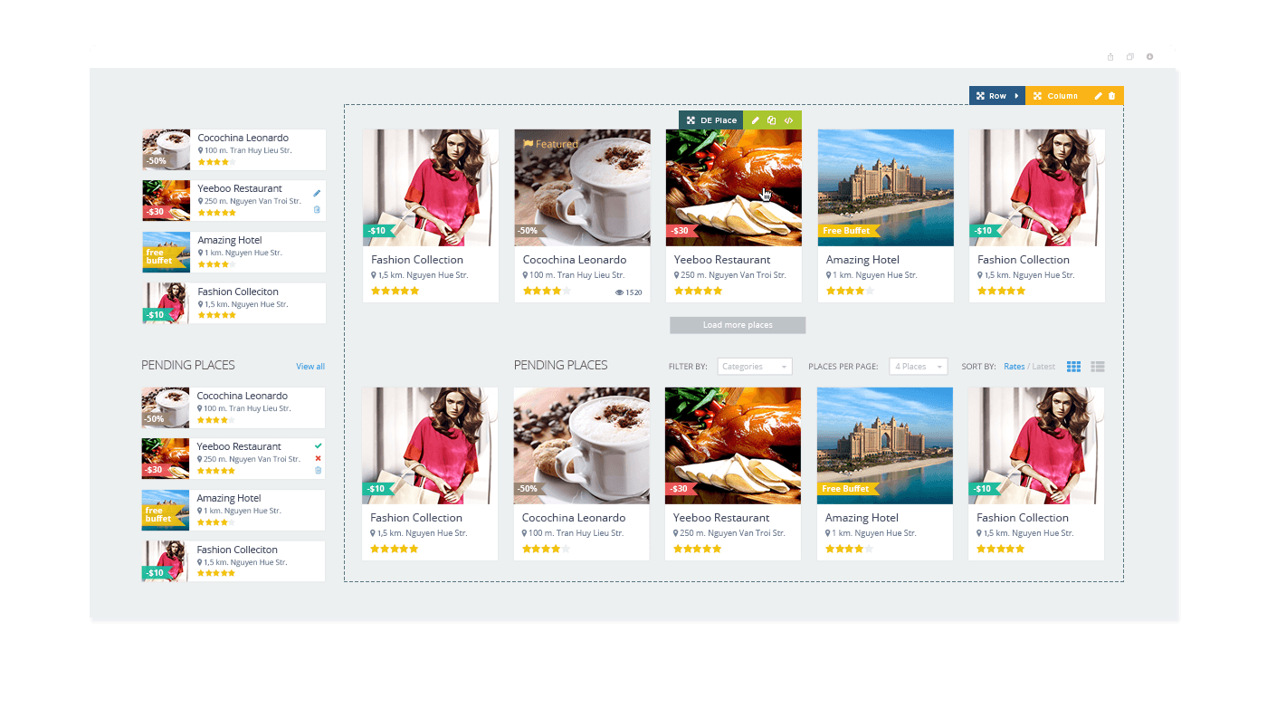 Directoryengine wordpress directory theme directory software directoryengine easy customize directory wordpress theme cheaphphosting Choice Image