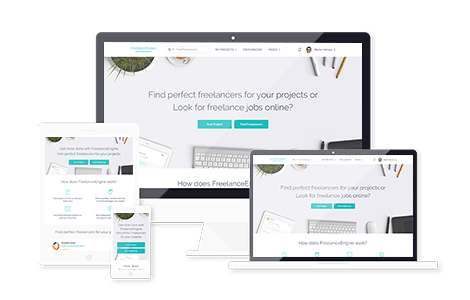 Freelance Marketplace Theme Bootstrap Framework Based