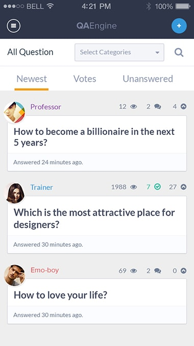 Wordpress Questions Answers Themes Mobile Reponsive Design