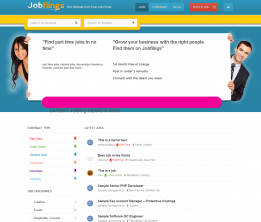 Jobflings - The Ultimate Part Time Job Portal
