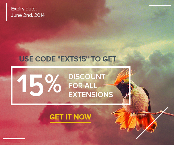 15% discount for all EngineThemes extensions