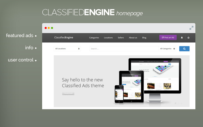 ad-homepage-ClassifiedEngine